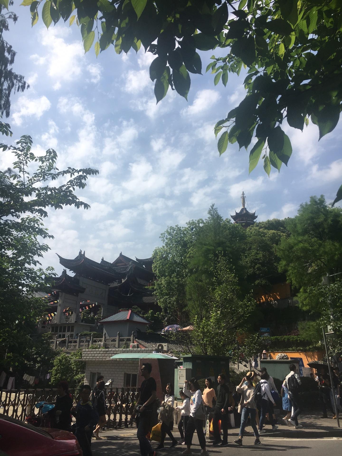 鸡鸣寺及玄武湖
